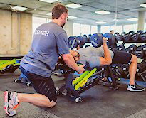 fitness_coach_training_session